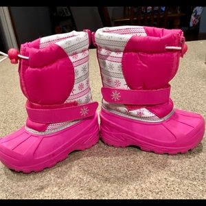 Girls size 8 Winter Snow Boots
